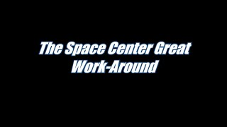 Workaround for the SimCity Space Center Great Work Bug