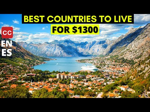 Top 10 Best Countries To Live In The World For $1300 | Travel Droner