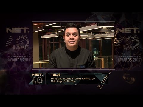 Male Singer of the Year - Indonesian Choice Awards 2017: Tulus