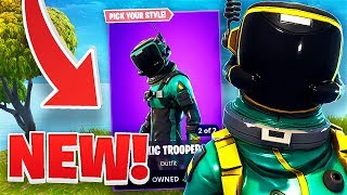 NEW TOXIC TROOPER AND HAZARD AGENT SKIN GAMEPLAY!! FORTNITE BATTLE ROYALE WITH TEAM ALBOE!!