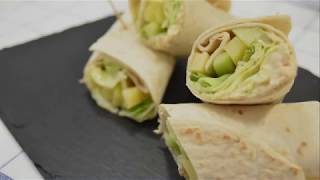 Recette Wraps au thon