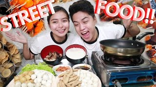 STREET FOOD COOKBANG!! (FISH BALL, SQUID BALL, KIKIAM, TOFU, LIEMPO AT IBA PA!) | KATHRYEE