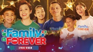 "ABS-CBN Christmas Station ID 2019 ""Family Is Forever"" Recording Lyric Video (With Eng Subs)"