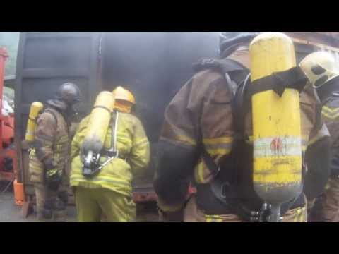 Compartment Fire Behaviour Training in Croatia 2013