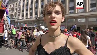 Thousands participate in Buenos Aires pride parade
