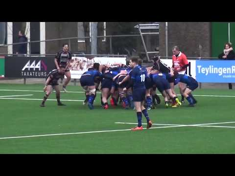 Rugby 2018 Bassets   Gooi 20 01 2018 highlights