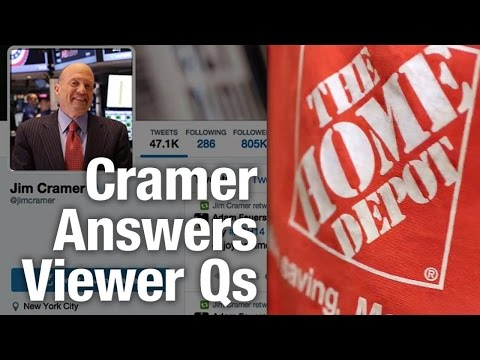 Cramer Says Home Depot Is Still King of the Construction Stocks