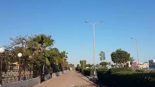 Египет выход с отеля Egypt Hotel Queen Sharm Resort дорога к McDonald's с заходом в магазин Rayahen