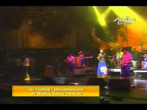 Aterciopelados, concierto completo en el Suena Caracas 2014