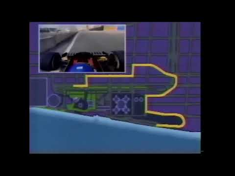 Detroit F1 circuit onboard 1986