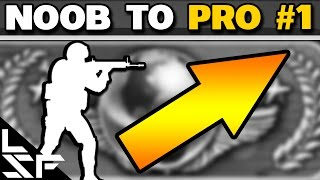 CS:GO NOOB TO PRO #1 - Setting up the Game