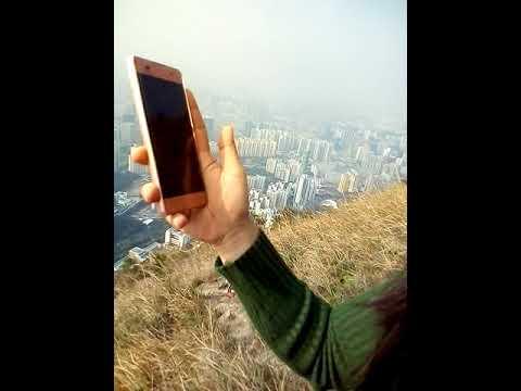 hiking@suicide cliff kowloon peak hongkong