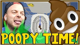 Minecraft - POOPY TIME! - Tall Dropper Map! [4]