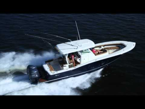Scout Boats 350 LXF - running video