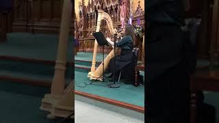 O holy night Rachel Reid voice & harp YouTube Thumbnail