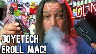 The Joyetech eRoll MAC Kit Review! | & Gettin' Salty w/ Fuggin' Vapor! | Vape Lounge