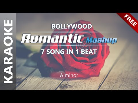 7 Song In 1 Beat - (Mashup KARAOKE) | ❤️ Romantic Mashup 2018 ❤ ️| 🌴 Bollywood Tropical Music 🌴