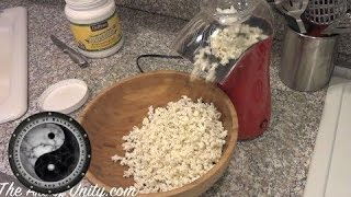 Making healthy Popcorn - Sweet tooth Cures - Part 2 Thumbnail