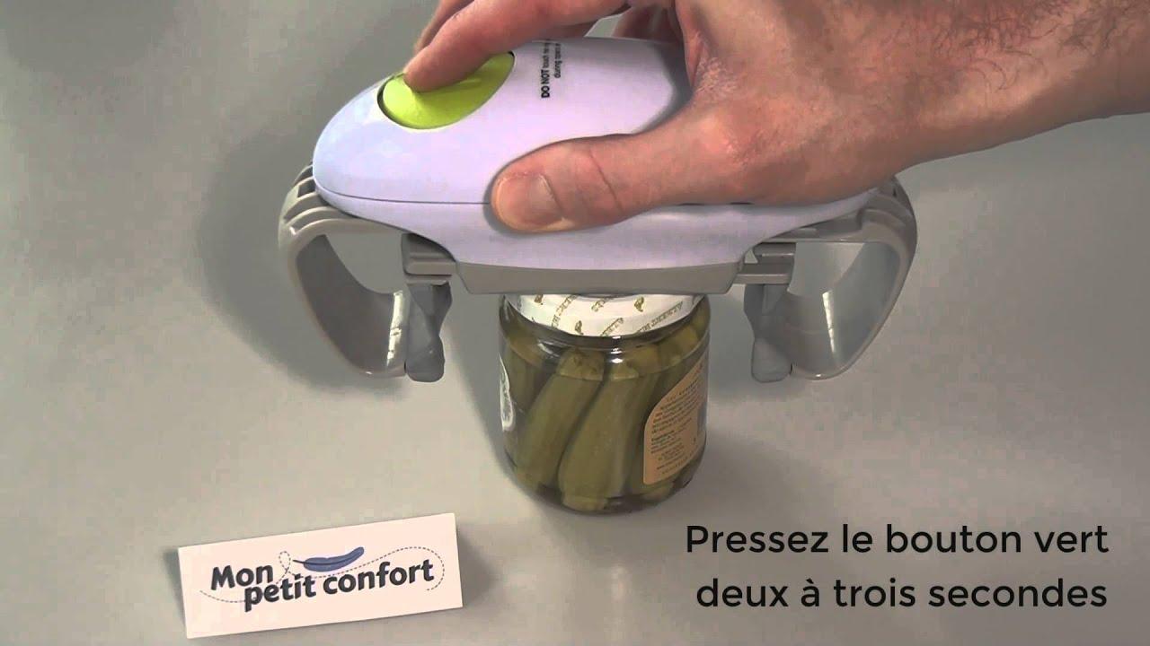 ouvre bocal electrique one touch par monpetitconfort com