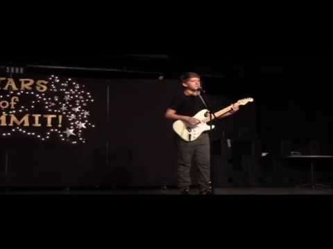 "Summit School of Ahwatukee Talent Show Mike Valentine singing Ed Sheeran ""Thinking Out Loud"" 102115"