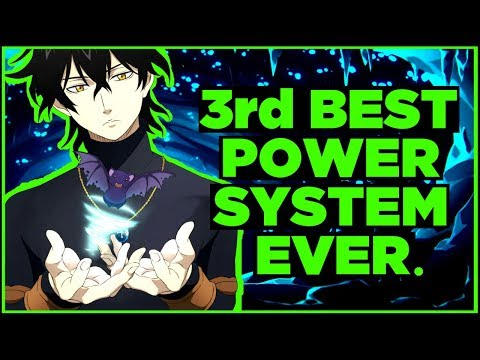 The Criminally Underrated Power System Of Black Clover