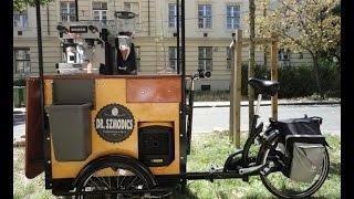 Велокафе , велокофейня, кофейня на колесах - от компании Del Centra - 07.14
