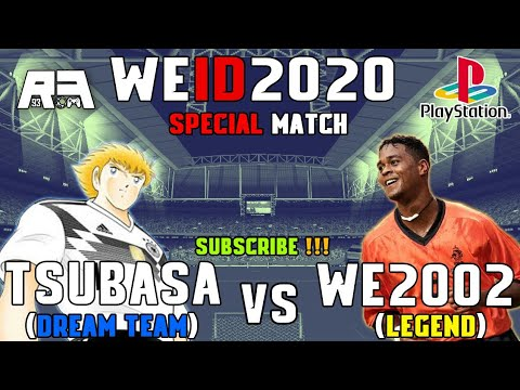 [GamePlay] WE2002 Legend VS TSUBASA Dream Team - WE2002 MOD 2020 PS1/PSX - 동영상