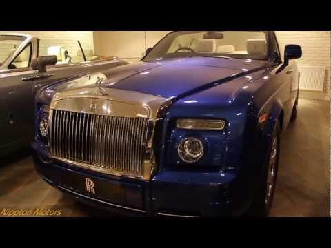 2013 Rolls-Royce Phantom Series II Drophead Coup? Blue In Detail (1080p FULL HD)