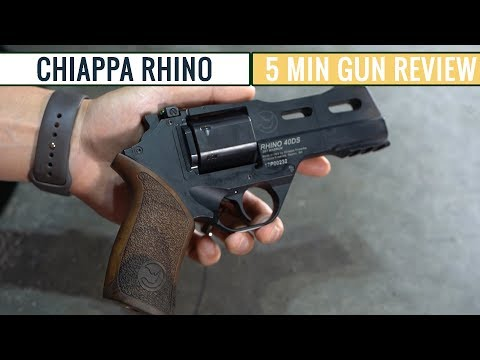 Chiappa Rhino | A Different Kind of Revolver | 5 Minute Review