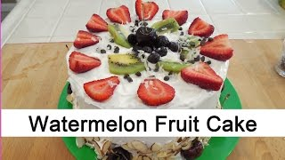 Surprise your friends with this quick and simple watermelon & fruit...