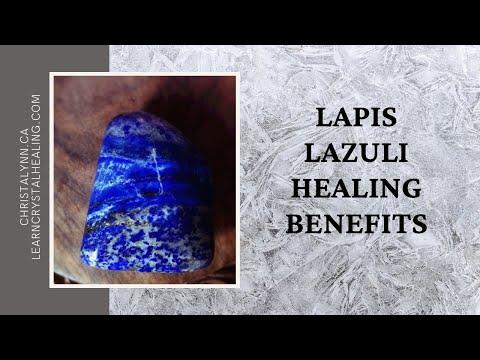 Healing With Lapis Lazuli