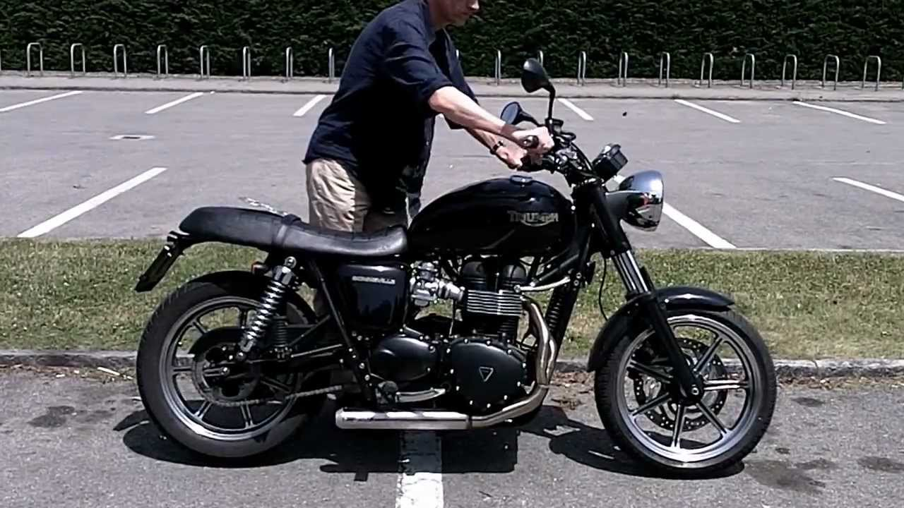 Triumph Bonneville 2010 Zard cross exhaust 2 into 1