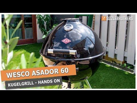 wesco-asador-60-kugelgrill-|-holzkohlegrill-im-hands-on