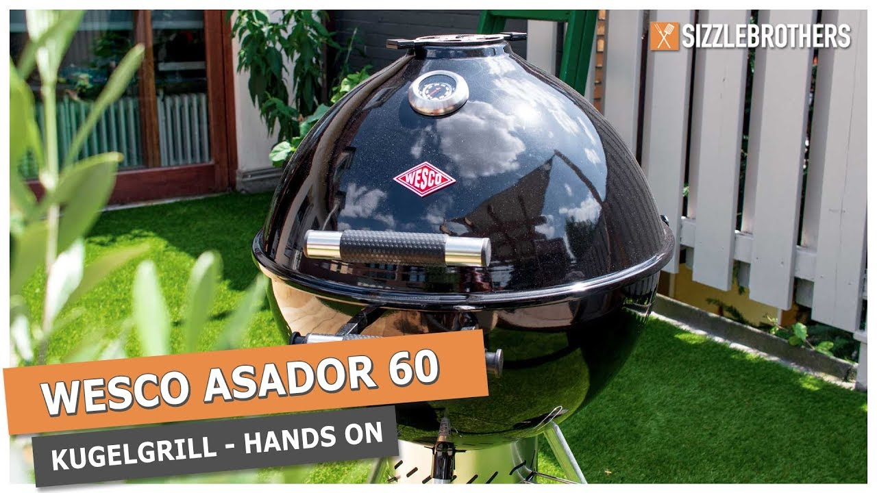 Aldi Holzkohlegrill York : Wesco asador 60 kugelgrill holzkohlegrill im hands on youtube