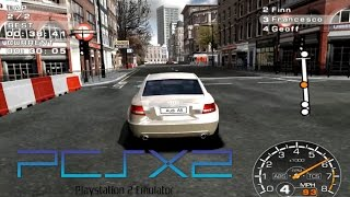 Corvette Evolution GT PS2 PCSX2 Widescreen HD 60fps (2006)