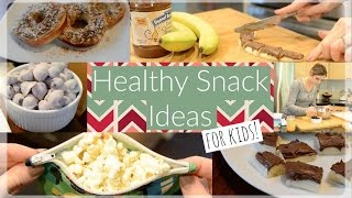 Healthy + Yummy Snack Ideas For Kids ♡ NaturallyThriftyMom