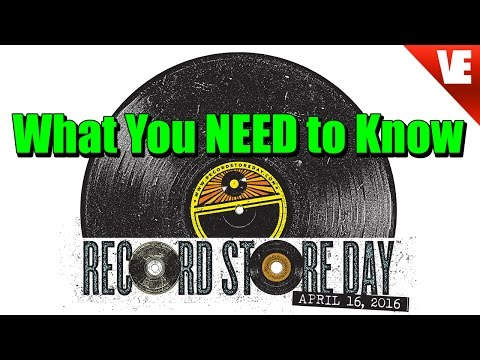 RECORD STORE DAY: What You NEED to Know!