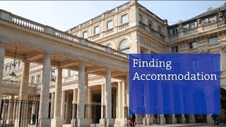 Finding Accommodation in Paris