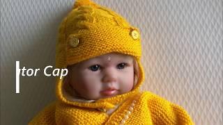 Knitting beautiful Aviator Cap