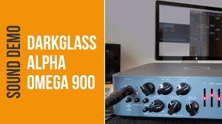 Darkglass Alpha Omega 900 - Sound Demo (no talking)