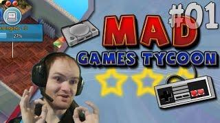Mad Games Tycoon Прохождение  ИГРА про то как делать ИГРЫ! ◄ #01 Что ЭТО?!