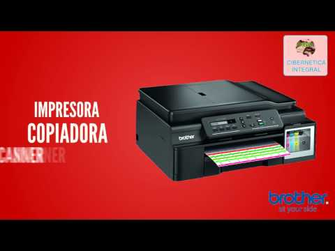 Multifuncional Brother DCP-T700W Tinta continua Impresora Copia Scanner