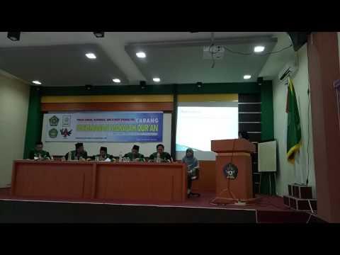 Juara 1 Makalah Al Quran PIONIR 2017 part 1