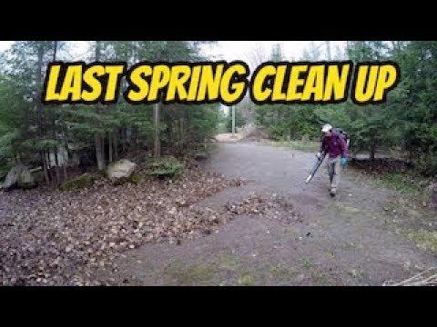 Last spring clean up