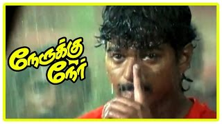 Nerukku Ner Movie Scenes | Vijay and Suriya fight | Raghuvaran and Shanti argue over their daughter