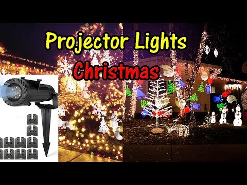 ⭐CHRISTMAS Projector Lights 🎄LED Slide Projection HOLIDAY (CAMTOA)👈