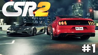 CSR Racing 2. Прохождение №1 (Gameplay iOS/Android)