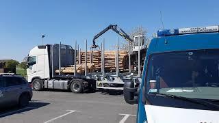 Transporty drewna na wadze ITD