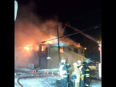 Casselman Fire on Principcal Street