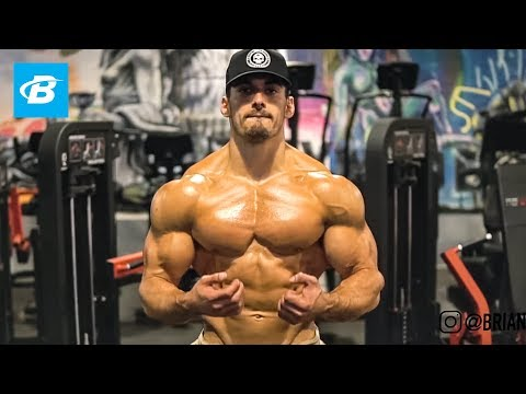 Shredded Upper Body Workout - Chest, Shoulder, & Triceps | Brian DeCosta